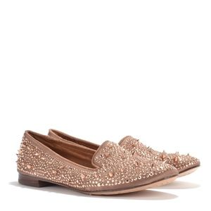 Sam Edelman 'Adena' Studded Spiked Satin Loafers